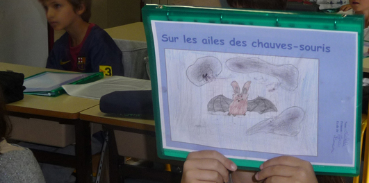 Dessin illustrant le classeur d'exercices